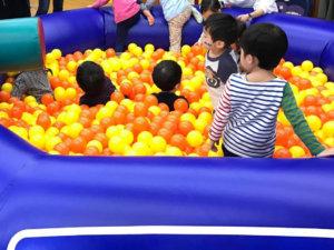未就園児教室 ボールプール