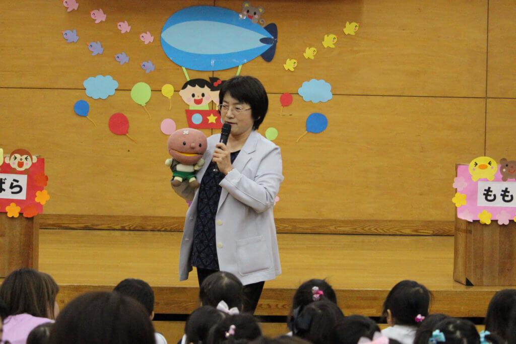 第75回 大成幼稚園 入園式