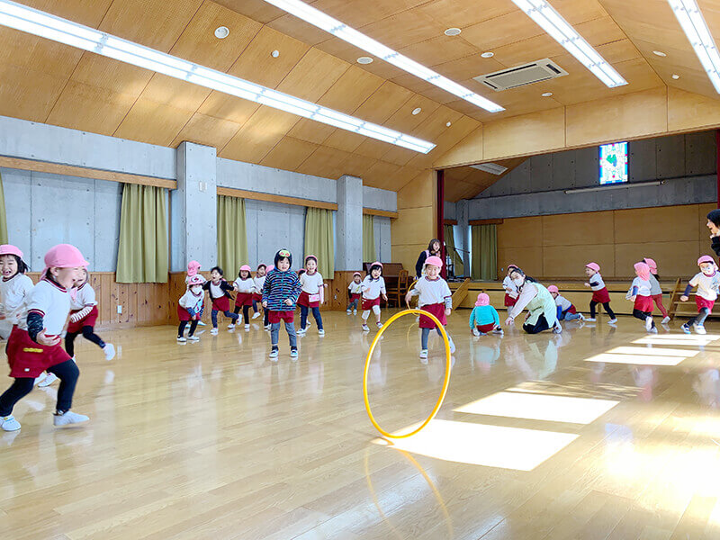 大成幼稚園 年少 体操教室