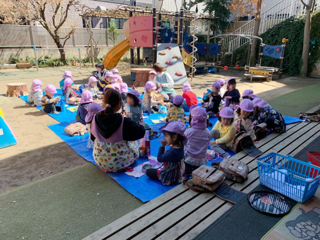 大成幼稚園 お弁当